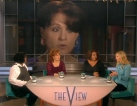 Chris on The View